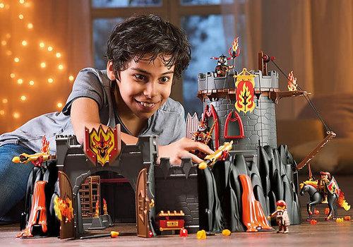 Playmobil Forteresse volcanique des Burnham Raiders