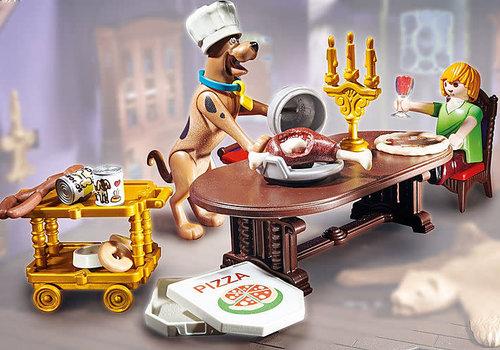 Playmobil SCOOBY-DOO! Salle de diner avec Sammy