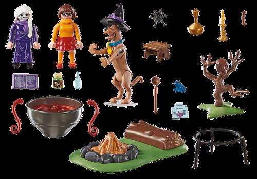 Playmobil SCOOBY-DOO! Histoires dans le Chaudron de la Sorcière