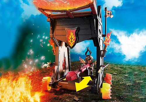 Playmobil Tour d'attaque mobile des Burnham Raiders