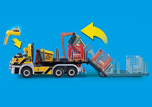 Playmobil Camion avec benne et plateforme interchangeables