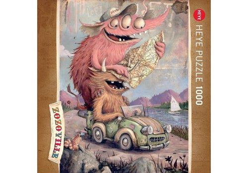 Casse-tête 1000 morceaux, Zozoville, Road Tripping