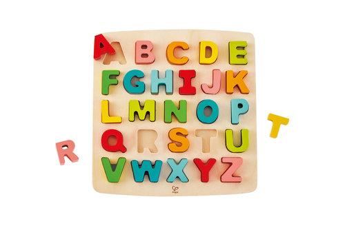 Hape Puzzle à grosses pièces - Alphabet