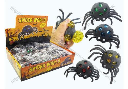 cls Squishy glitter spider