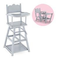 Chaise haute pour poupée 14 et 17''  / High chair