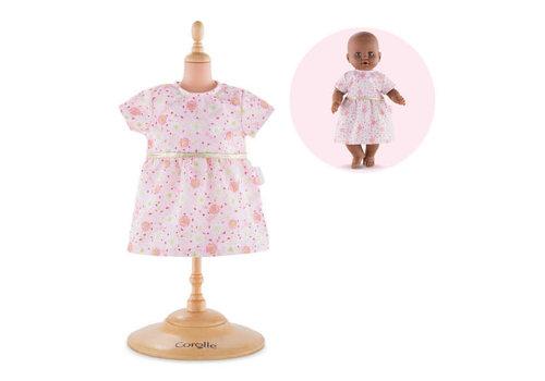 Corolle Robe rose pour poupée 14 pouces