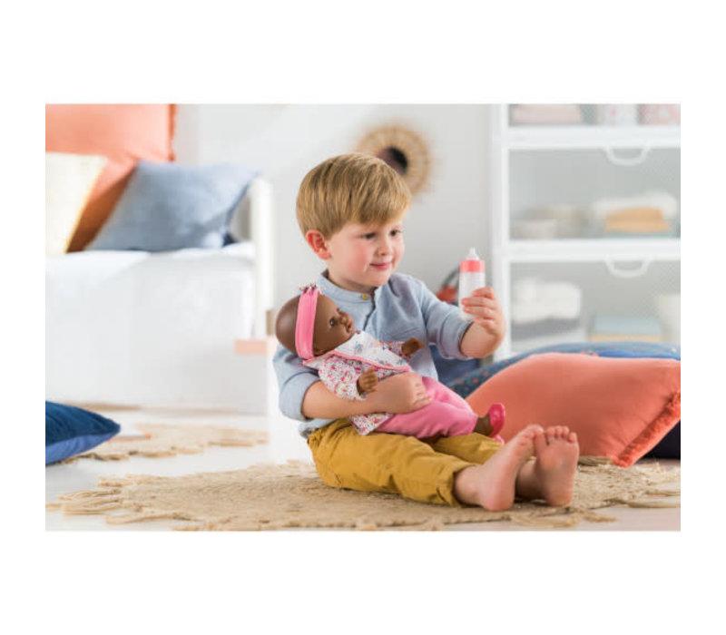 Bavoir et biberon magique pour poupée 14 et 17 pouces