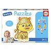 Educa 5 Baby Puzzles - Wild Animals Refresh