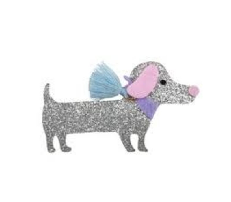 Boutique Dachshund Hairclip, Assorted