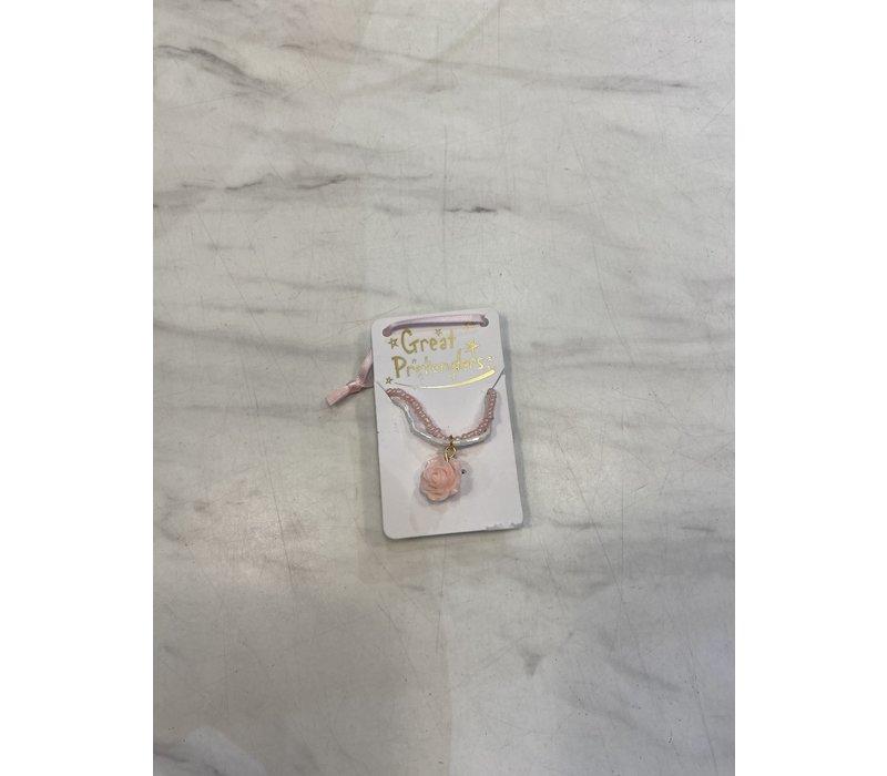 Boutique Rose Necklace