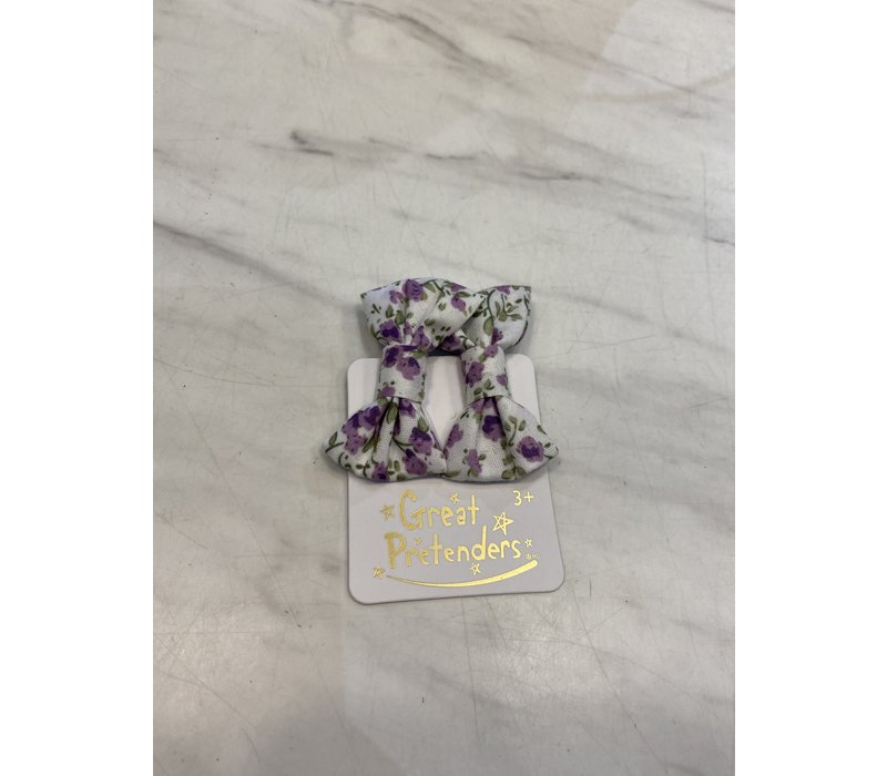 Boutique Liberty Mini Bow Hairclips, 2 Pcs, Assorted