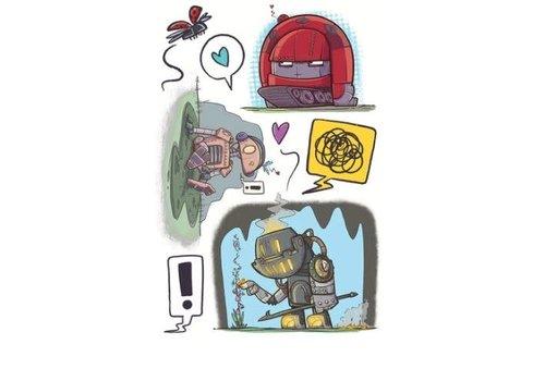 Lalita's Art shop Robots - Tatouages éphémères