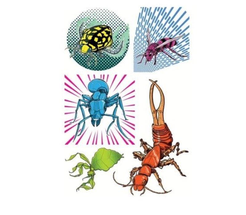 Bibittes mécaniques- Tatouages éphémères