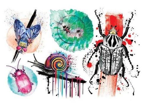 Lalita's Art shop Les petites bêtes - Tatouages éphémères