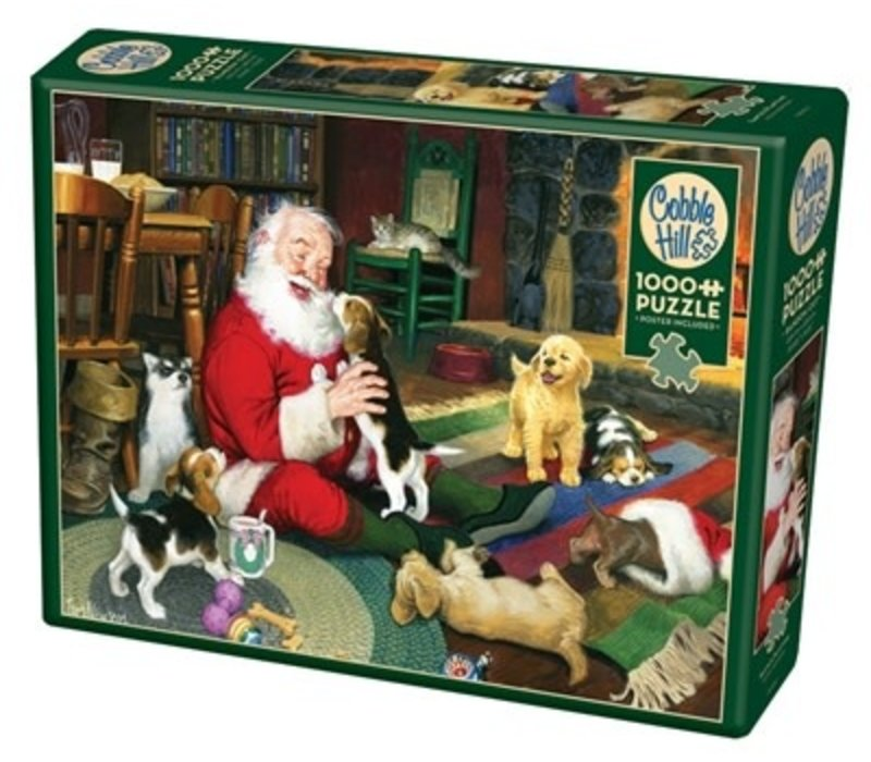 Casse-tête 1000 morceaux - Santa's playtime