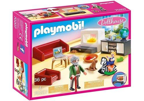 Playmobil Salon avec cheminee