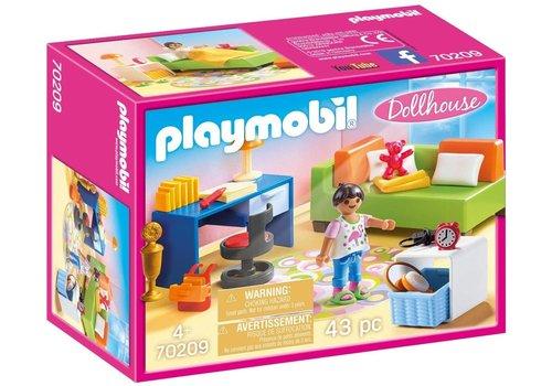 Playmobil Chambre enfant avec canape-lit