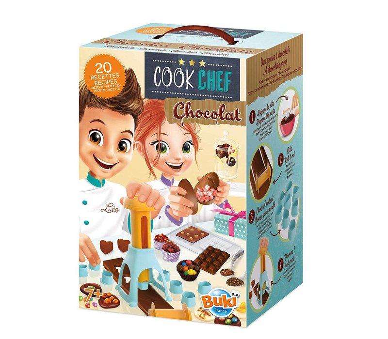 Buki- cook chef- chocolat