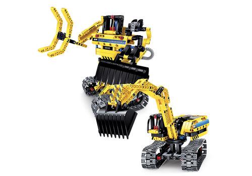 Lisciani (Giochi) Science Hi-Tech- Robot/ Pelleteuse 25 en 1 Technics