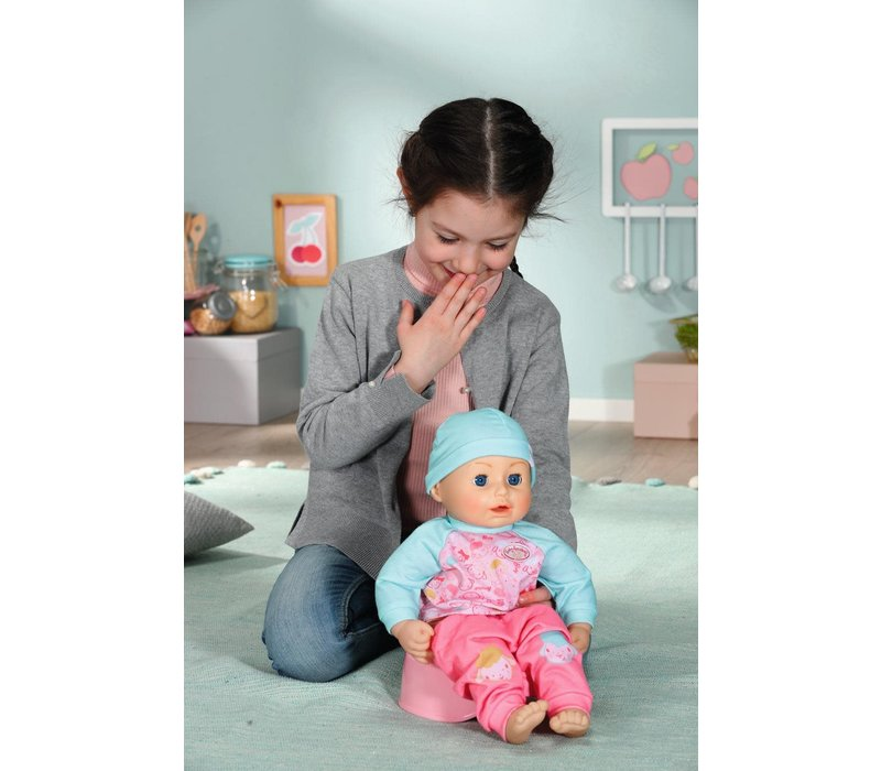 "Baby Annabell - Poupée interactive ""Lunch Time"" 43 cm"