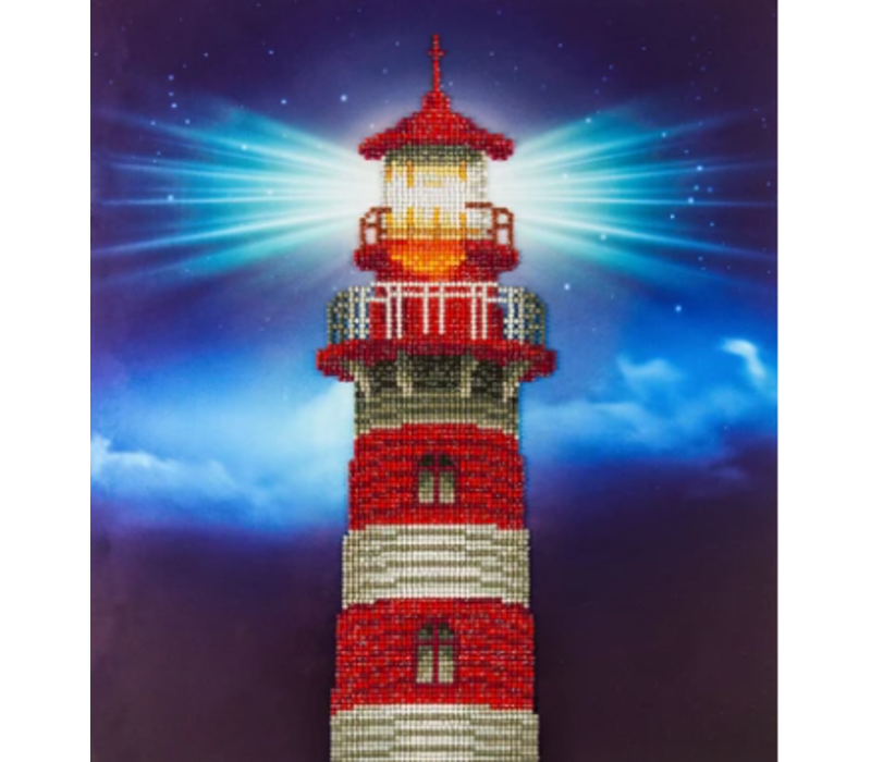 Diamond Dotz - Light House Diamond Art Kit - Advanced