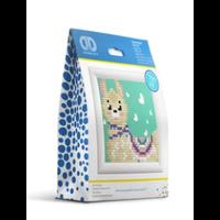 Diamond Dotz - Llama Heart Kit With Frame