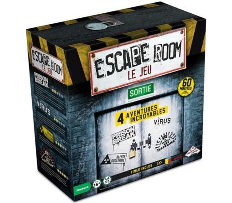 Escape Room Coffret de base (4 scénarios)