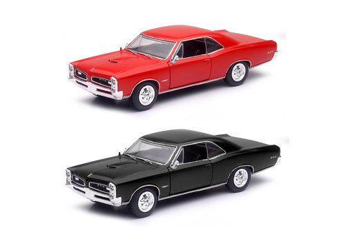 NewRay New Ray-1:25 Die cast 1966 Pontiac GTO