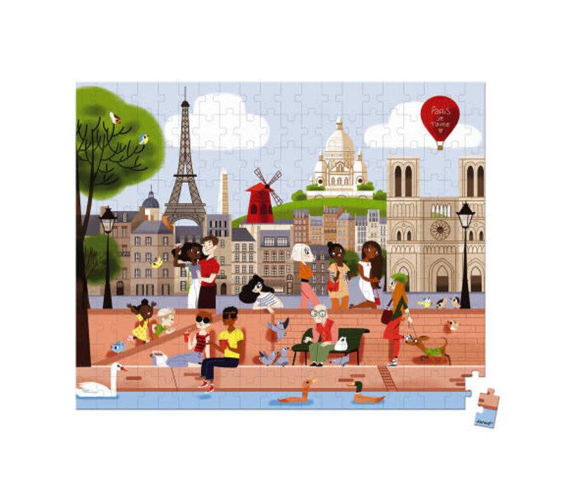 Casse-tête 200 morceaux Paris