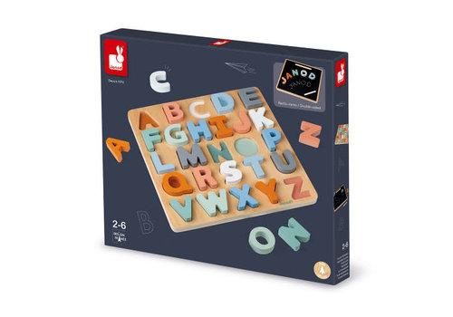 Janod Puzzle alphabet sweet cocoon