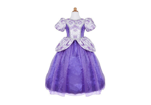 creative education Royal Pretty Princess Dress. Lilac. Size 7-8