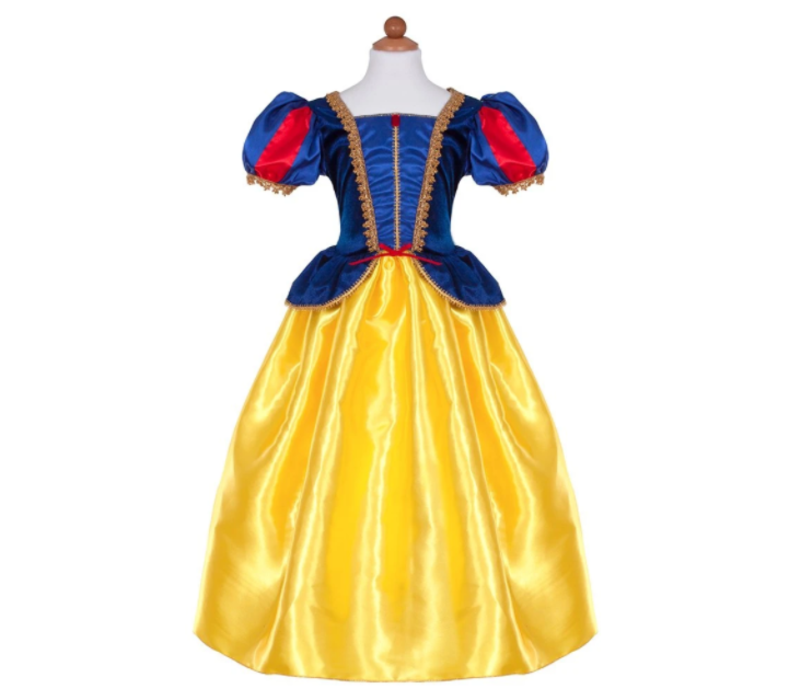 Deluxe Snow White Gown. Size 7-8