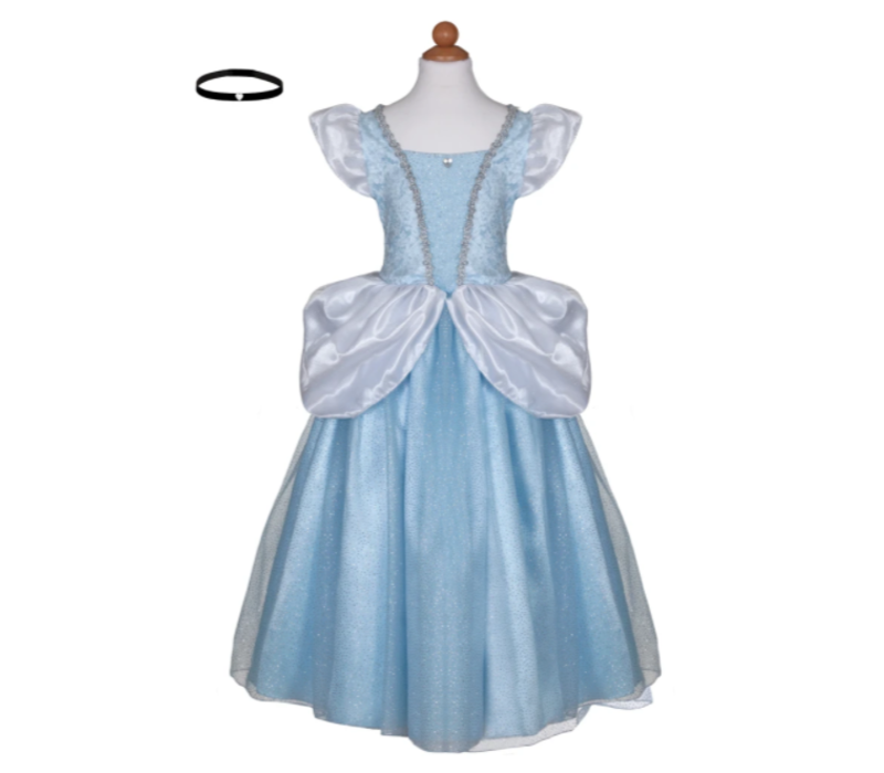 Deluxe Cinderella Gown. Size 7-8