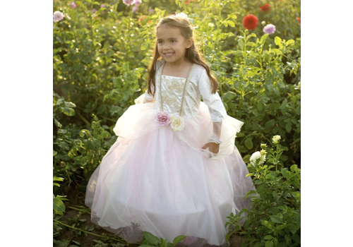 creative education Golden Rose Princess Dress. Size 7-8