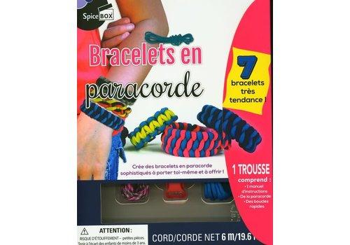 Spice Box Bracelets en paracorde