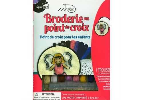 Spice Box Broderie au point de croix