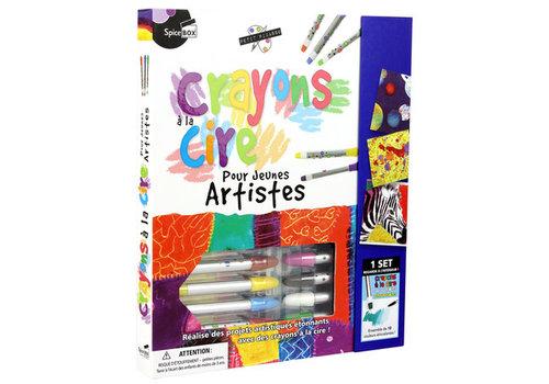 Spice Box Crayons à la cire pour jeunes artistes