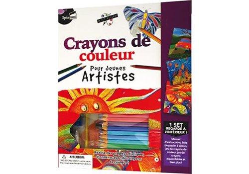 Spice Box Crayons de couleur pour jeunes artistes