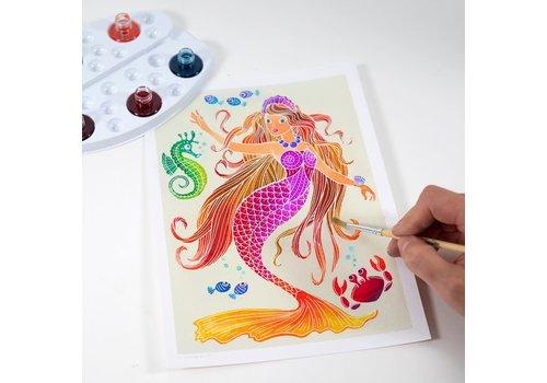 sentosphere Mermaids - JR 4 canvas