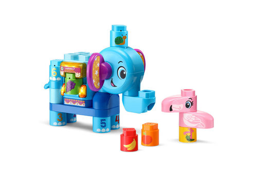 leapfrog LeapBuilders Mon éléphant des découvertes