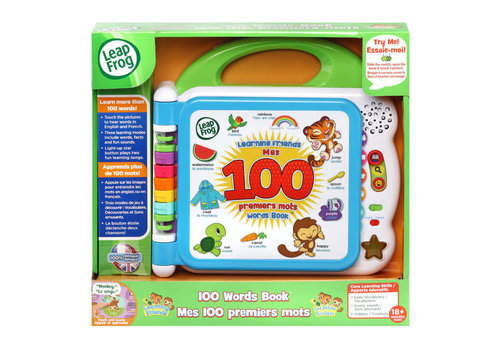 leapfrog Learning Friends 100 Words Book™/ Mes 100 premiers mots