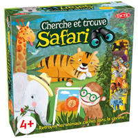 Cherche et trouve Safari