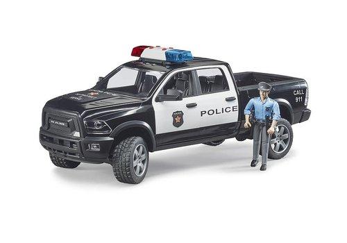 Bruder Camion de police Pick up Ram avec policier