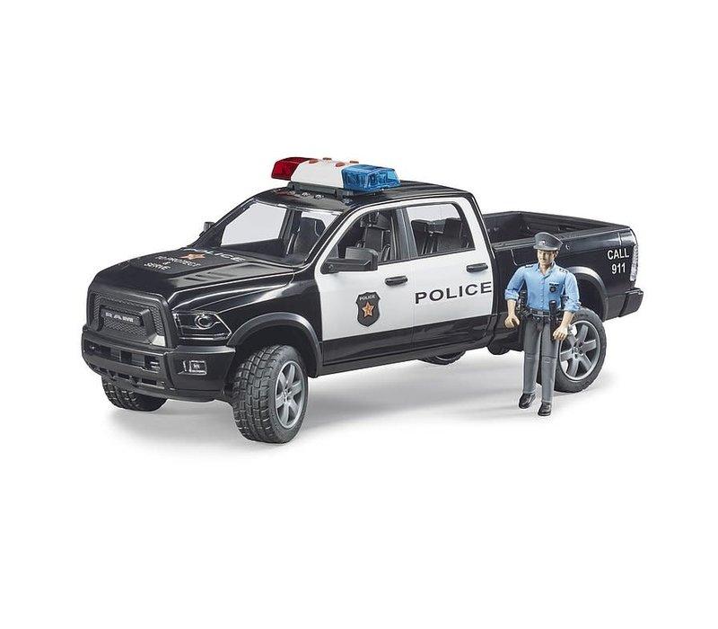 Camion de police Pick up Ram avec policier