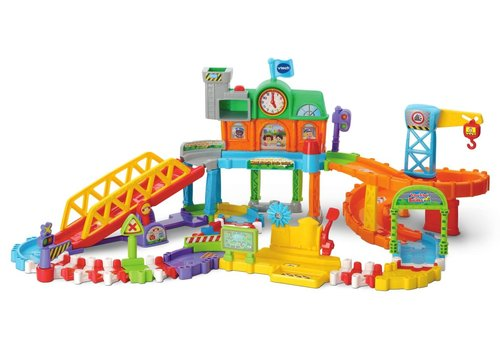 Vtech Tut Tut Bolides Maxi circuit train twist