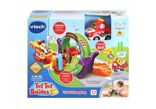 Vtech Tut Tut Bolides Tut Tut Looping (+ King roi du looping)