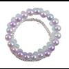 creative education Classy Glassy 3 Pcs Bracelet Set