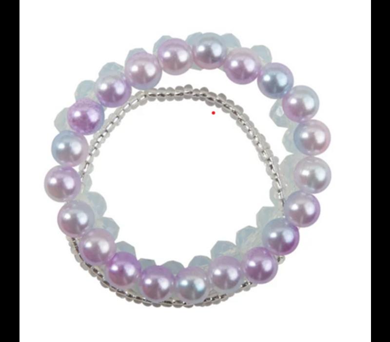 Classy Glassy 3 Pcs Bracelet Set