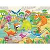 Ravensburger Casse-tête Le voyage des dinosaures - 60 morceaux
