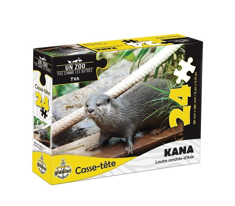 Casse-tête - 24 morceaux - Kana - Miller Zoo